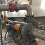 Centrifugal Pump in a Water Treatment Plant