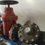 Water Meter and Gate Valve